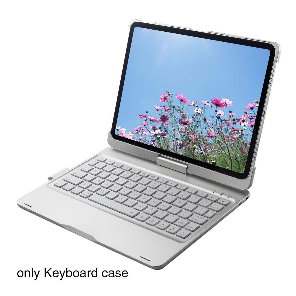 Auto Sleep Bluetooth Keyboard Case Wireless Cover Faster Night With Backlit Protection Dustproof Low Consumption For Ipad Pro 11