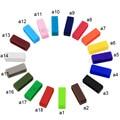 4 pcs Pulseiras Acessórios Titular Locker Loop Cinta Faixas De Relógio de Borracha de Silicone 18 cores 14mm-26mm Largura GK01