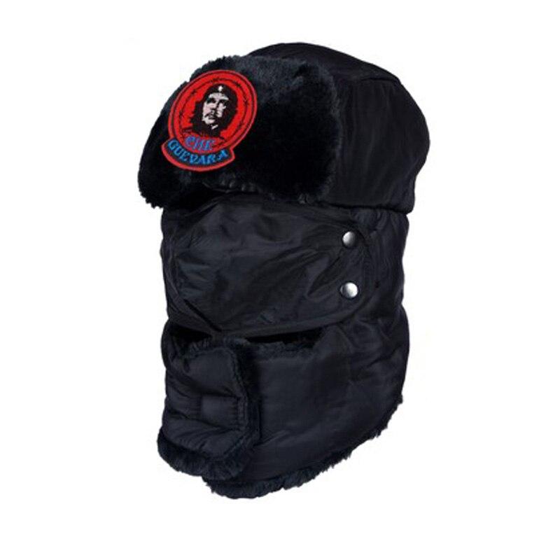 Che guevara Anak Anak Aviator Hat Kentalkan Topi Musim Dingin topi Hangat  anak Gadis Topi Topi ae25f8c44f