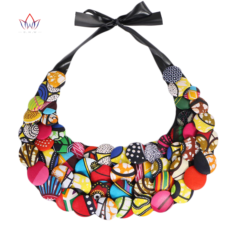 2017 Ankara Button Bib Statement Neckpiece African Tribal Necklace Statement Necklace button Jewelry for Women WYA067 usb type c pd wall charger fast charging power adapter for new macbook pro dell 9350 acer r13 samsung asus hp
