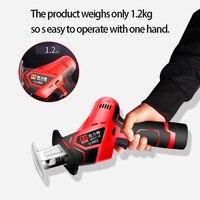high quality 1500mAh 12V lithium reciprocating saws saber saw portable cordless electric power tools jig saw