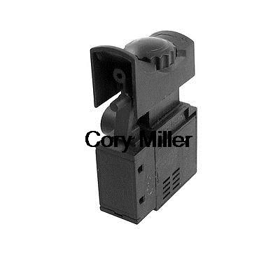Electric Drill Power Tool Trigger Switch AC 250V 6A for Bosch RE400 spno 5e4 lock on electric drill power tool trigger switch