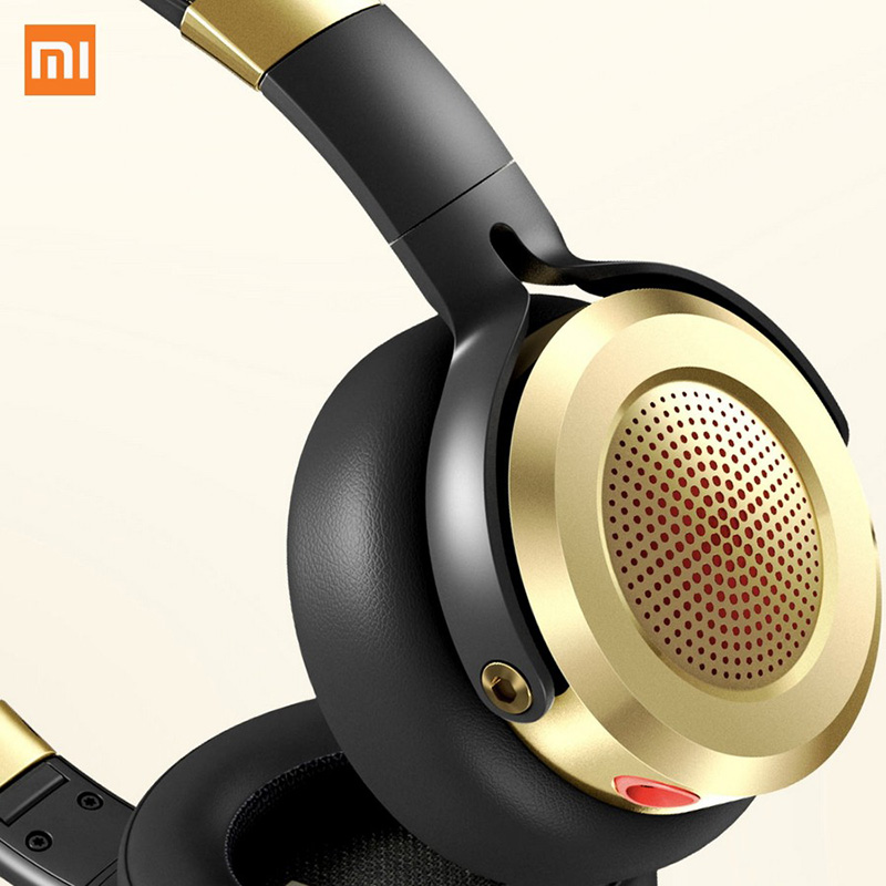 New Version HiFi Stereo Headphone Original Xiaomi Headset with Mic Foldable 3 5mm Music Earphone Beryllium