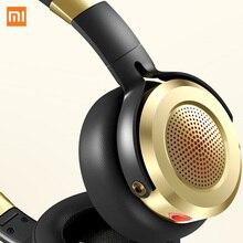 New Version HiFi Stereo Headphone Original Xiaomi Headset with Mic Foldable 3.5mm Music Earphone Beryllium Diaphragm Microphone