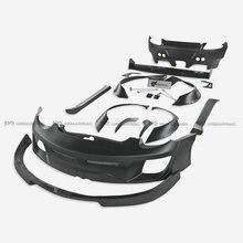 For 09-12 Porsche Cayman 987.2 Gen II Facelift RB Style Full Wide Body Kit FRP Fiber Glass Rear Spoiler цены онлайн