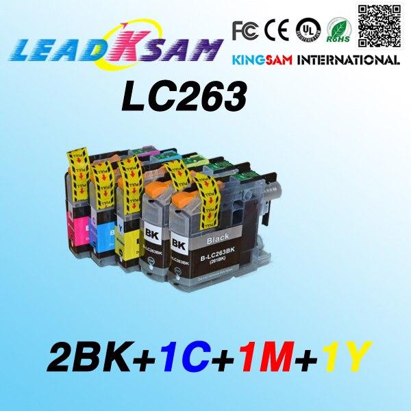 5 шт. LC263 совместимый чернильный картридж для LC263XL DCP-J562DW MFC-J480DW MFC-J680DW MFC-J880DW