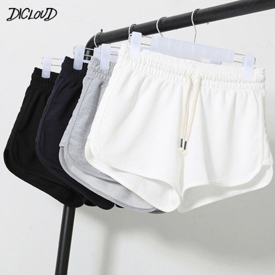 Y Xxl Dicloud Cintura Playa Suelto 2019 Alta Blanco Verano Casual Negro De Pantalones Cortos Tamaño Corto Plus S Sexy Mujer shdrCtBQx