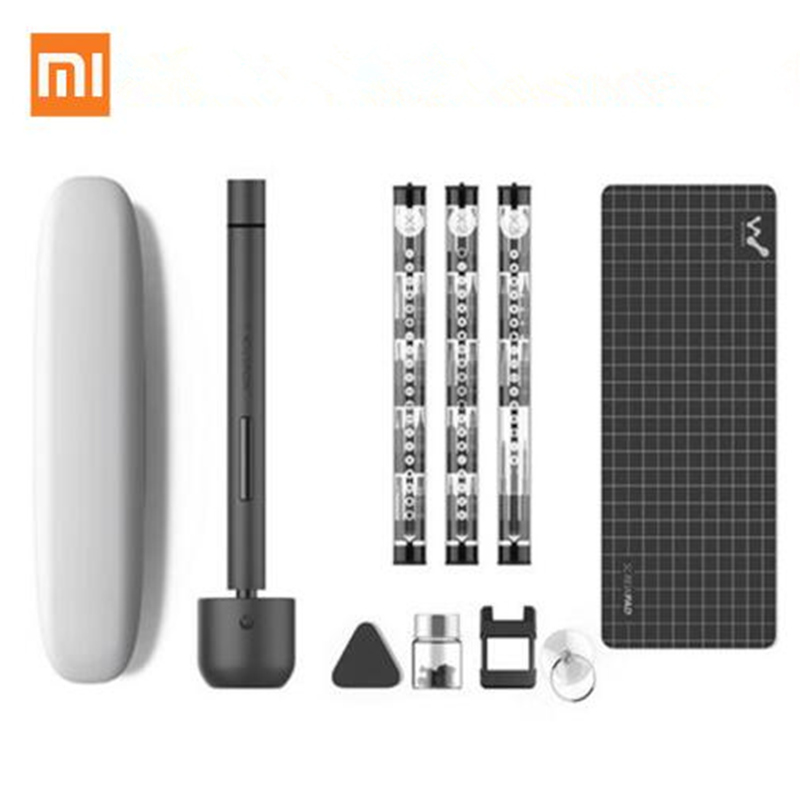 New Xiaomi Wowstick 1F+ 1F Pro 56 Bits Cordless Electric Screw Driver  Aluminium Body DIY Repair Tool For Desktop Mobile Phone leaf village naruto headband