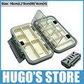 UGO-C-A03 Medium Size Waterproof Fishing Tackle box , Hooks, Lure Box High Quality Fising Accessories organizer Carp Fishing