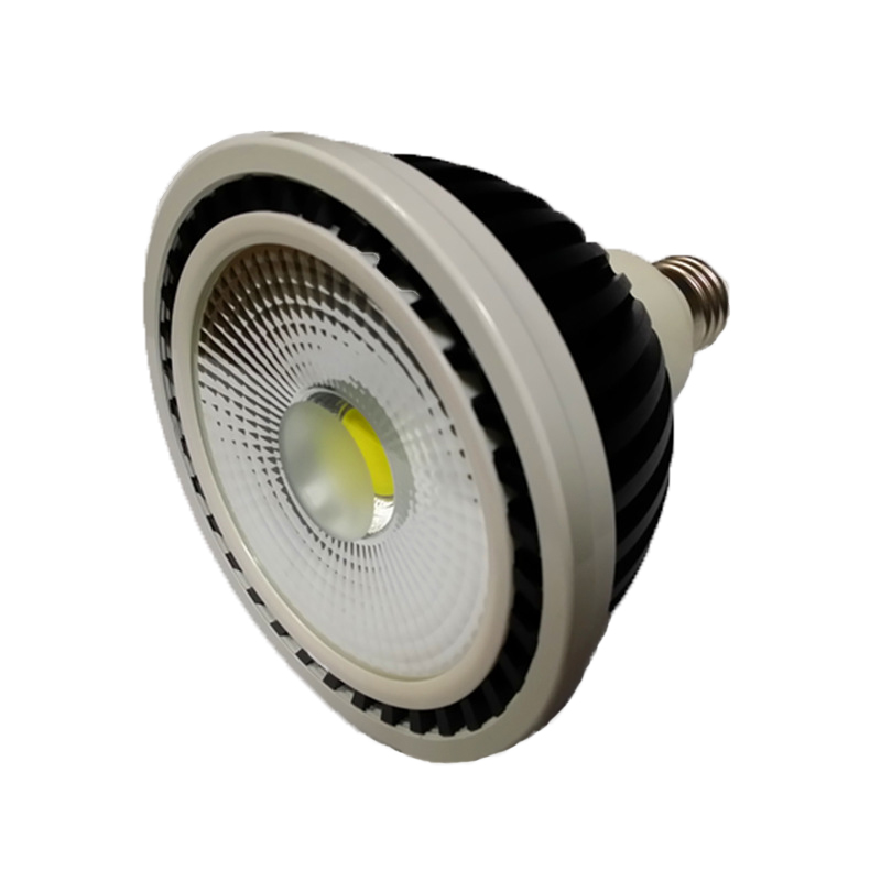 10pcs black 25w cob Par38 LED Bulbs e27 e26 Par38 SpotLight track light rail light source Cool White/Warm White 110V 220v warranty 2 years e27 par30 30w led bulbs light no dimmable110v 220v warm cool white led spotights