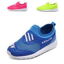 Summer Kids Sneakers Breathable Mesh Shoes Girls and Boys Sport Shoes Soft Bottom Kids Shoes