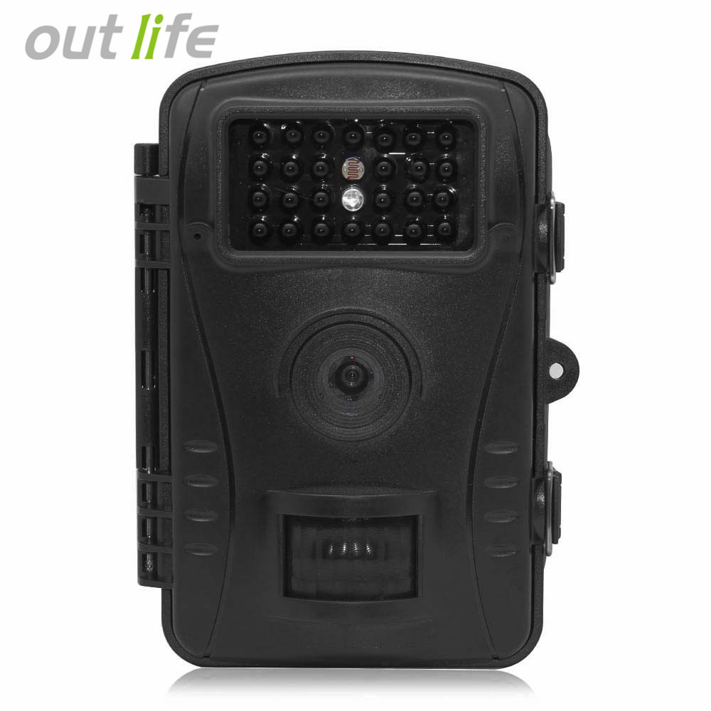 Outlife RD1003 Hunting Camera 2.4in Display 720P HD IP54 1MP 15m IR Wide Angle Motion Detection Outdoor Hunting Trail Camera чехол на сиденье autoprofi mtx 1105 bk rd m