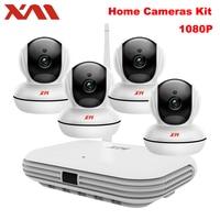 XM 4CH Wireless CCTV System 1080P HD NVR IR Night IP Camera Wifi Camera Security System
