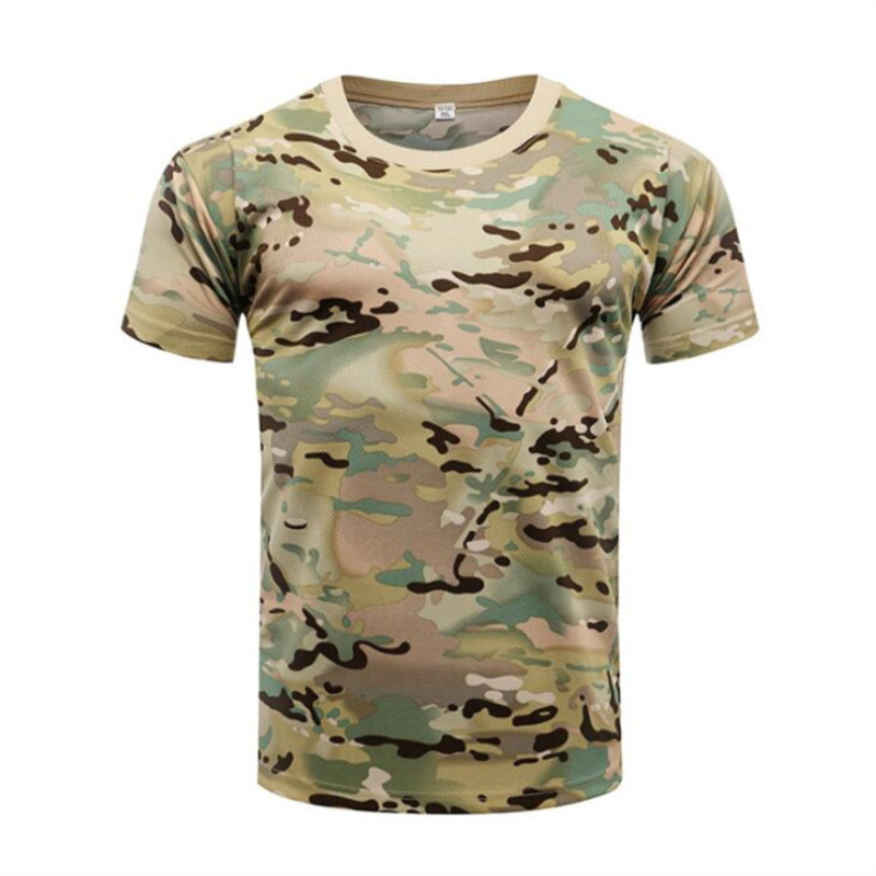 Gear Camouflage Army T-Shirt Men RU Soldiers Combat Tactical T Shirt Military Force Multicam Camo Long Sleeve T Shirt