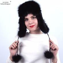 Linhaoshengyue модные женские туфли лиса меховые покрывала уши