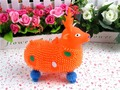 The fawn flash light ball toys children's day gift Sika deer figures out the ball Seven balls
