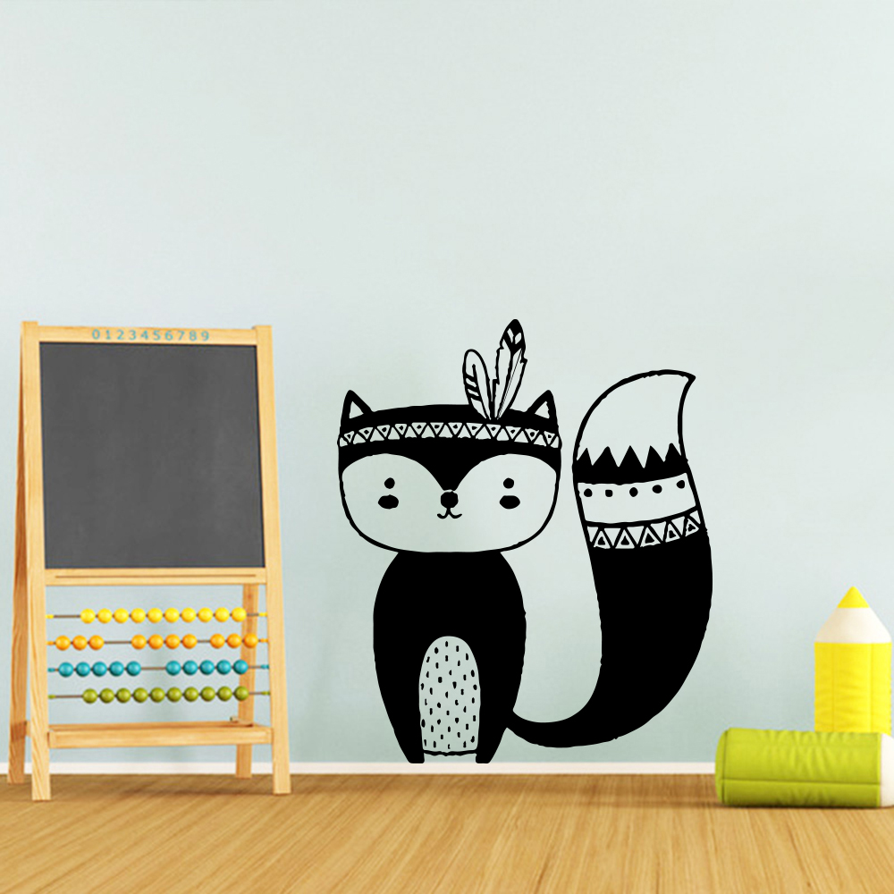 Diy Werewolf Wall Sticker Home Decoration Accessories Bedroom Nursery Stickers Waterproof Wallpaper In From Garden On