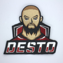 OLOEY design custom personalized patch embroidery unlimited number of factory customization
