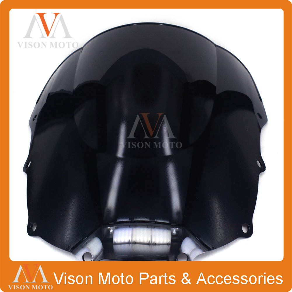 Motorcycle Winshield Windscreen For KAWASAKI ZZR400 ZZR600 ZZR 400 600 1993 1994 1995 1996 1997 1998 1999 2000 2001 2002-2007