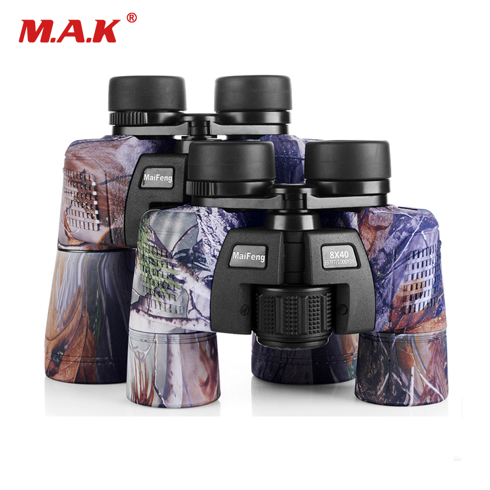Hunting Optics Intellective Binocular 8x40/10x50 Military Camo Telescope Waterproof Fmc Blue Film Coated Optical Len For Hunting