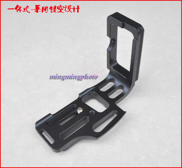 Vertical Quick Release L Plate/Bracket Holder hand Grip for Nikon D810 D800 Camera Arca-Swiss Standard