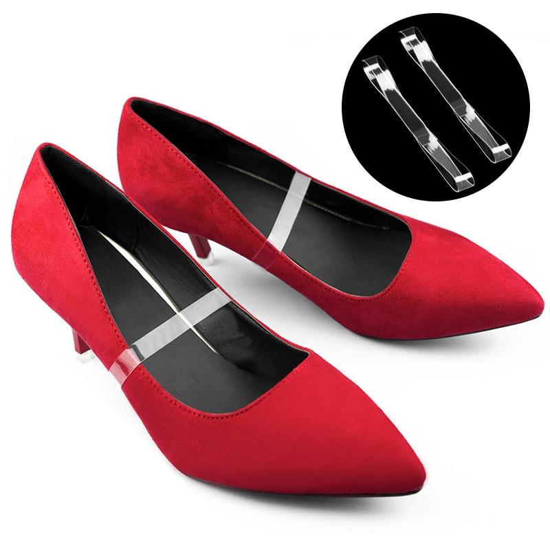 11cm Hot Invisible Elastic Silicone Transparent Shoelaces For High Heel Shoes Clear Shoe Laces Shoelace Straps Shoe Accessories