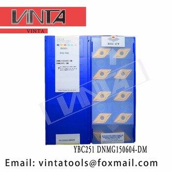 free shipping high quality 10pcs/lots YBC252 YBC152 YBM251 YBC251 DNMG150604-DM cnc carbide turning inserts