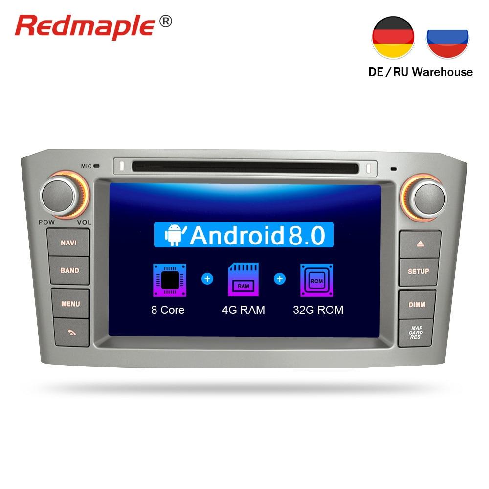 android 8 0 car dvd player gps navigation multimedia. Black Bedroom Furniture Sets. Home Design Ideas