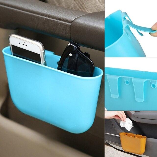 1Pc Automobile Storage Organizer Box Car Seat Slit Pocket Holder Seat Seam Storage Box Car styling