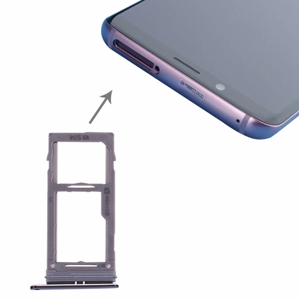 iPartsBuy for Samsung Galaxy S9+ / S9 SIM & Micro SD Card Tray