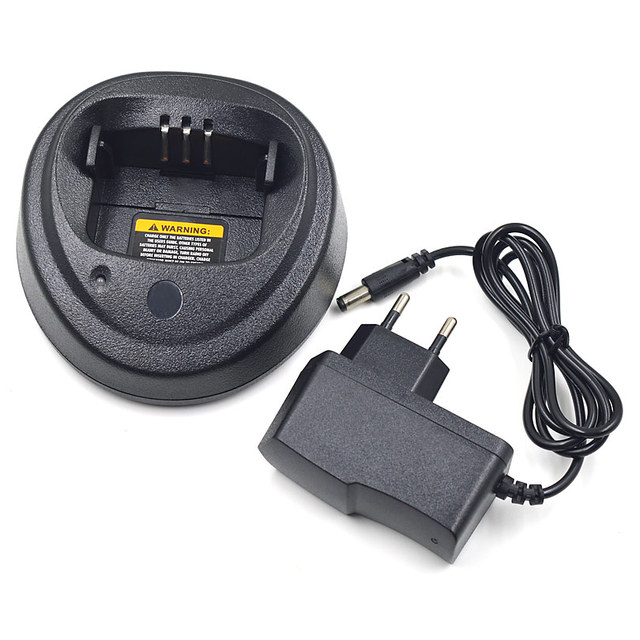 110 240V Radio Battery Desktop Charger for Motorola CP200 CP040 CP200D EP450 CP140 CP150 CP160 CP180 GP3688 Radio Walkie Talkie