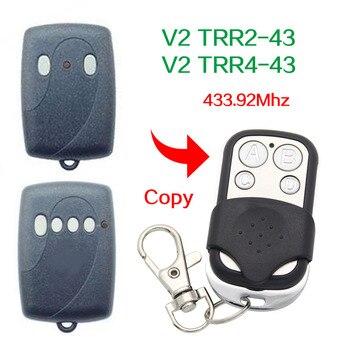 TRR2-43 V2 o TRR4-43, duplicador de mando a distancia para garaje, cloner de 433,92 mhz