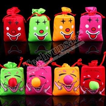 20piece/lot free shipping Halloween creative toys Ha ha bag music smile bag Voice bag Children's Toys