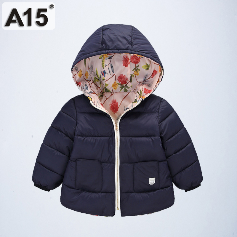 Jacket Clothing Outerwear Parka Warm Coat Hooded Girls Boys Winter Kids for Age-2-3-4-6-8