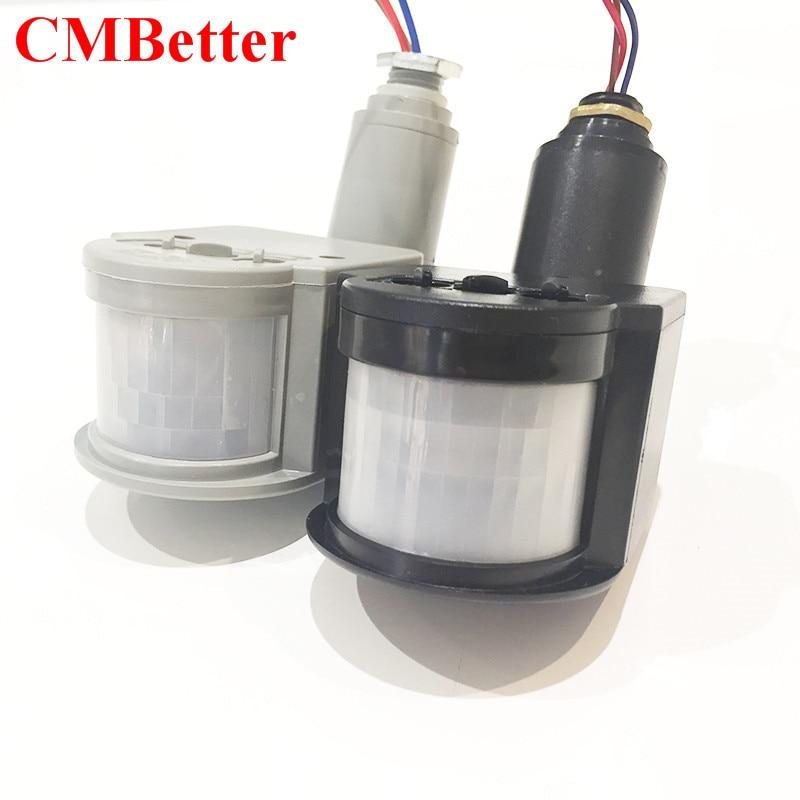 New Arrival Smart Body Sensors Switch PIR Infrared Motion Detector Sensors 10M AC220V/DC12V/DC24V For home lighting Y1 xsav11801 inductive proximity switch speed sensor motion rotate detector 0 10mm dc ac 24 240v 2 wire 30mm replace telemecanique