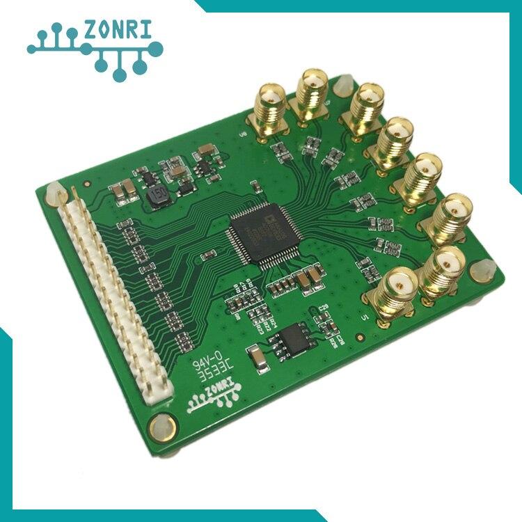 Module d'acquisition de données AD7606 module d'échantillonnage synchrone 16Bit/200 KSps module ADC référence externe