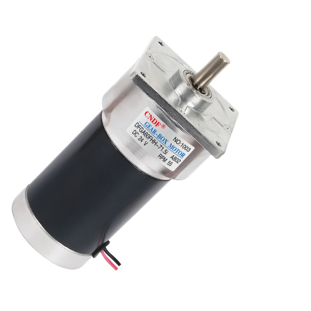 DFGA60FHH-72i  Center Shaft 24V 51RPM 1.1A  2.3N.m Electric Tool Motor Reduction ratio 72 : 1 Permanent Magnet DC Gear Motor dental endodontic root canal endo motor wireless reciprocating 16 1 reduction