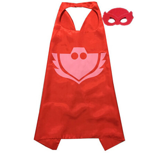 2017 Lovely Mask Cape and Mask Set Mask Costume Kids Birthday Party Favor Gifts