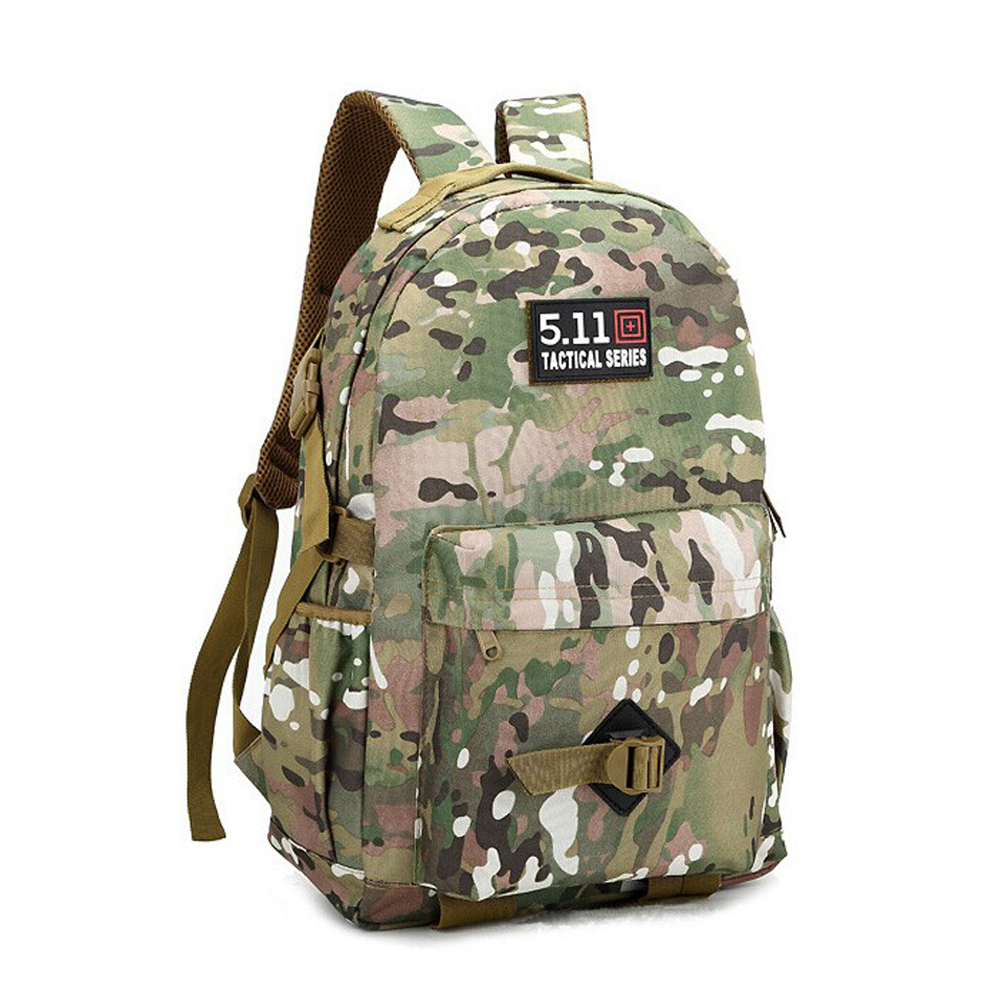 ФОТО 35L Organic Camo Backpack Camouflage Women Men Mochila Tactica Tactics Travel Backpacsk Camouflage Bag Students Middle Schoolbag