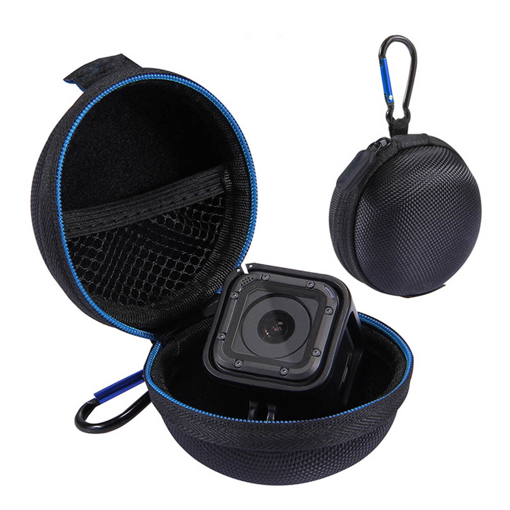 2018 New Mini Storage Box Case Micro Pouch Protective Bag Superhard Fabric For Gopro Hero5/4/3 Session Sport Camera Accessories