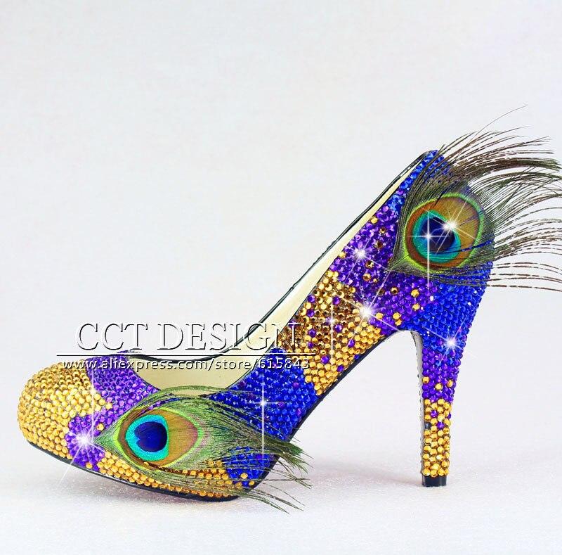 Popular Peacock Blue Heels-Buy Cheap Peacock Blue Heels lots from ...