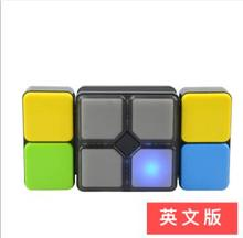 New music Variety  cube educational toys luminous sound game console parent-child interaction child variety music rubik s cube parent child intelligent interactive game machine educational toys gift children talking toys