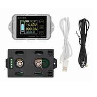 100% Original JUNTEK Wireless Digital Display Voltmeter Ammeter Multifunction LED Measure Bi-directional Volt Ammeter