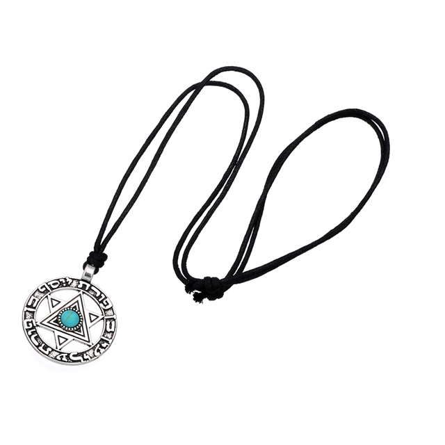trendy Star of David pendant necklace