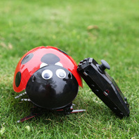 Electric remote control beetles ladybug bionic insects rc pet crawling Toys Gift Hot Selling For kids funny toys