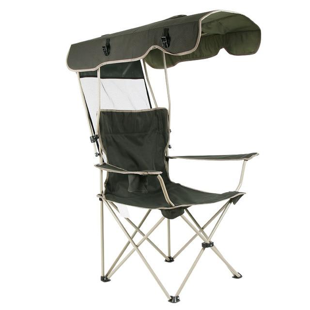 Outdoor Protable Sunshade Folding Chair Sunshelter Beach Canopy