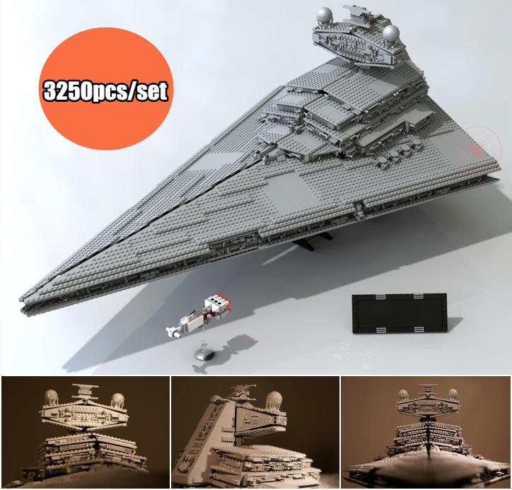 New Star fighter series Emperor starship fit legoings star wars figures set Model Building Blocks Bricks Toy 10030 kid diy gift сумка emperor mk20380 2014