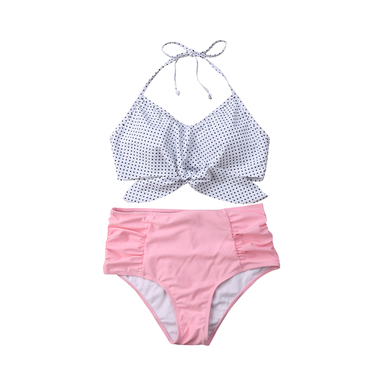 HTB1AQmDaIfrK1Rjy1Xdq6yemFXar Swimwear Mom And Daughter Bikini Set Father And Son Matching Outfits Women Swimwear Baby Girl Swimsuit Family Matching Outfits