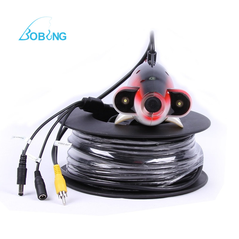 CR-006J PAL NTSC Underwater <font><b>Camera</b></font> for <font><b>Fishing</b></font> Fish Finder Waterproof HD <font><b>Camera</b></font> 20M to <font><b>100M</b></font> Cable Wires Outdoor Equipments