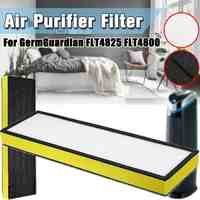 Purificateur d'air filtre HEPA remplacement pour GermGuardian modèles FLT4825 FLT4800 B filtre éponge purificateur d'air pièces